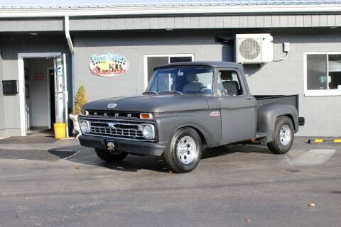 1965 Ford F-100 for sale at Great Lakes Classic Cars & Detail Shop in Hilton NY