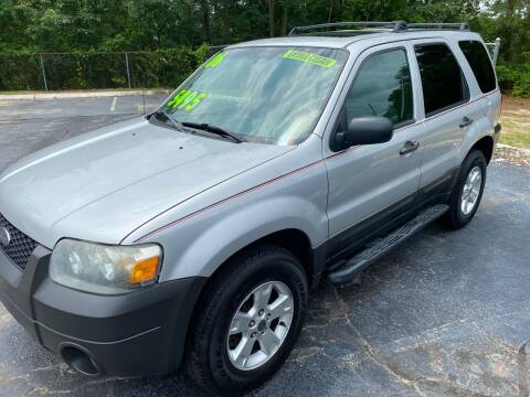 2006 Ford Escape for sale at TOP OF THE LINE AUTO SALES in Fayetteville NC