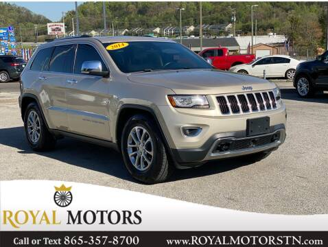 2014 Jeep Grand Cherokee for sale at ROYAL MOTORS LLC in Knoxville TN