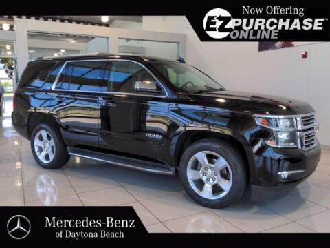 2015 Chevrolet Tahoe for sale at Mercedes-Benz of Daytona Beach in Daytona Beach FL