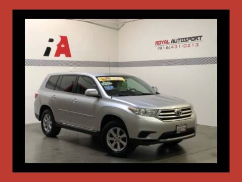 2011 Toyota Highlander for sale at Royal AutoSport in Sacramento CA