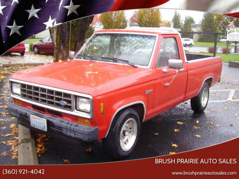 1987 Ford Ranger for sale at Brush Prairie Auto Sales in Battle Ground WA