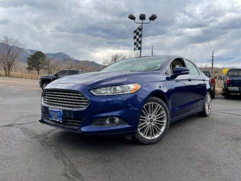 2013 Ford Fusion for sale at Lakeside Auto Brokers in Colorado Springs CO
