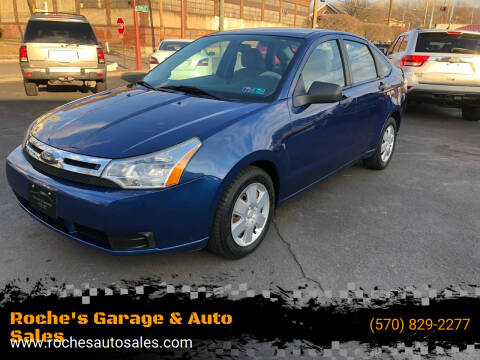2009 Ford Focus for sale at Roche's Garage & Auto Sales in Wilkes-Barre PA