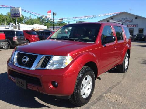2008 Nissan Pathfinder for sale at Steves Auto Sales in Cambridge MN
