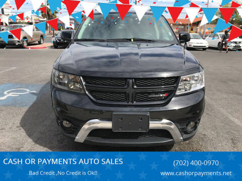 2018 Dodge Journey for sale at CASH OR PAYMENTS AUTO SALES in Las Vegas NV