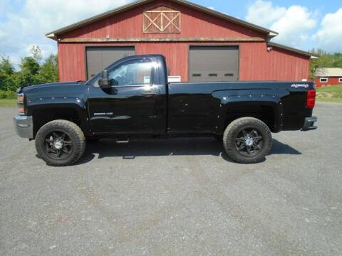 2016 Chevrolet Silverado 2500HD for sale at Celtic Cycles in Voorheesville NY