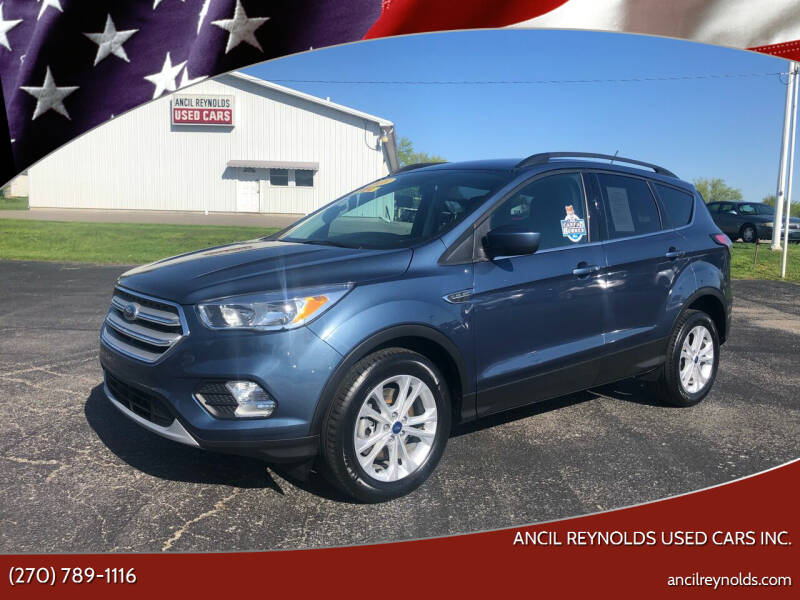 2018 Ford Escape for sale at Ancil Reynolds Used Cars Inc. in Campbellsville KY