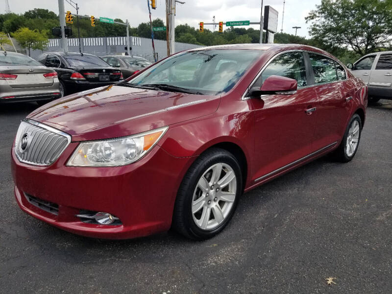 2011 Buick LaCrosse for sale at Cedar Auto Group LLC in Akron OH