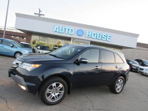 2009 Acura MDX for sale at Auto House Motors in Downers Grove IL