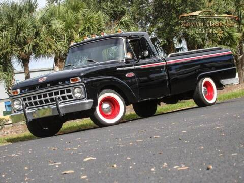 1965 Ford F-100 for sale at SURVIVOR CLASSIC CAR SERVICES in Palmetto FL