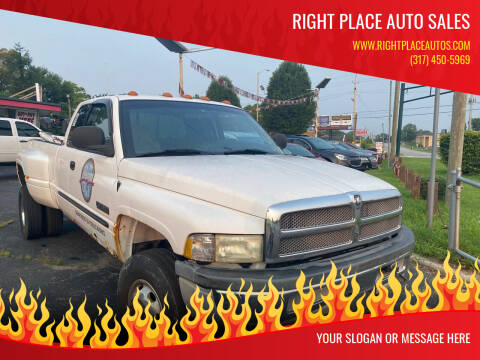 2001 Dodge Ram Pickup 3500 for sale at Right Place Auto Sales in Indianapolis IN