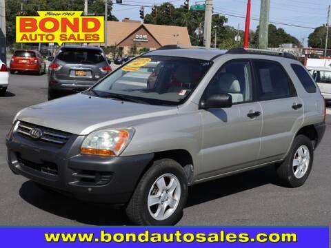 2007 Kia Sportage for sale at Bond Auto Sales in St Petersburg FL