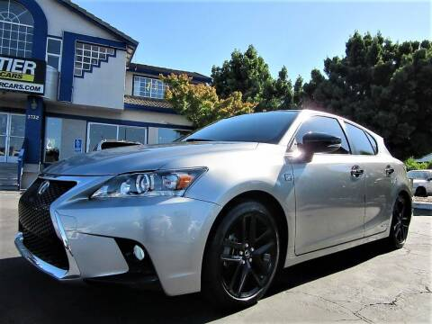 2016 Lexus CT 200h for sale at Top Tier Motorcars in San Jose CA