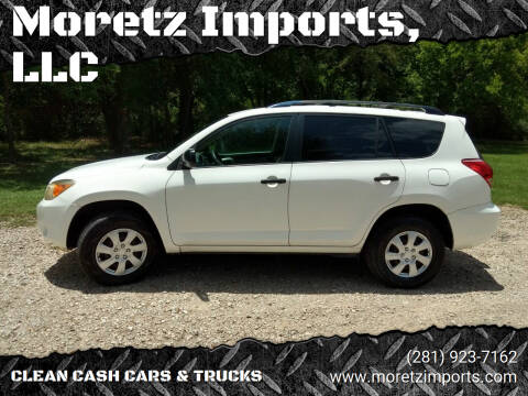 2008 Toyota RAV4 for sale at Moretz Imports, LLC in Spring TX