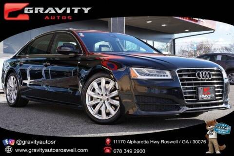 2017 Audi A8 L for sale at Gravity Autos Roswell in Roswell GA