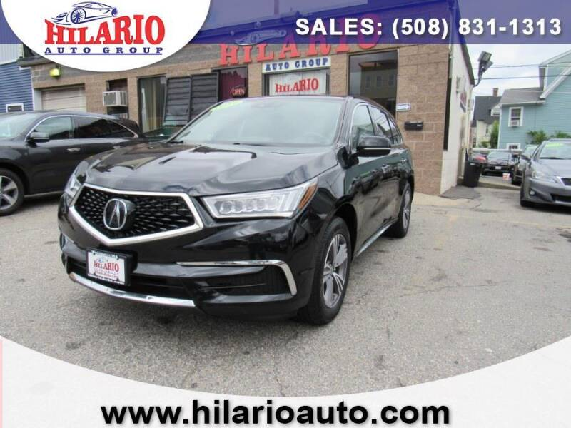 2019 Acura MDX for sale at Hilario's Auto Sales in Worcester MA