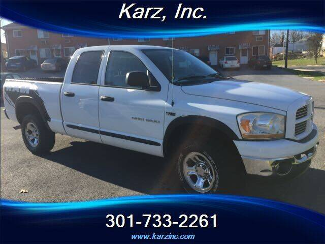 2006 Dodge Ram Pickup 1500 for sale at Karz INC in Funkstown MD