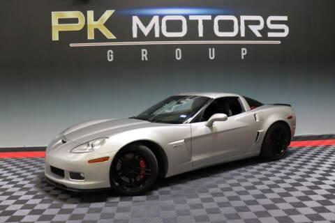 2006 Chevrolet Corvette for sale at PK MOTORS GROUP in Las Vegas NV