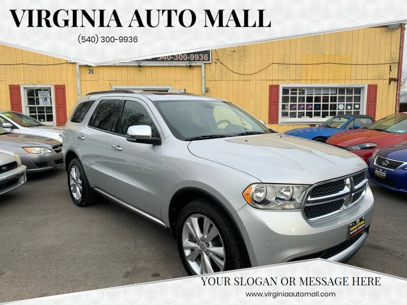 2011 Dodge Durango for sale at Virginia Auto Mall in Woodford VA