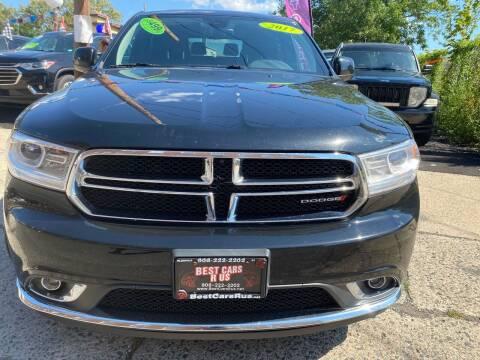 2017 Dodge Durango for sale at Best Cars R Us in Plainfield NJ