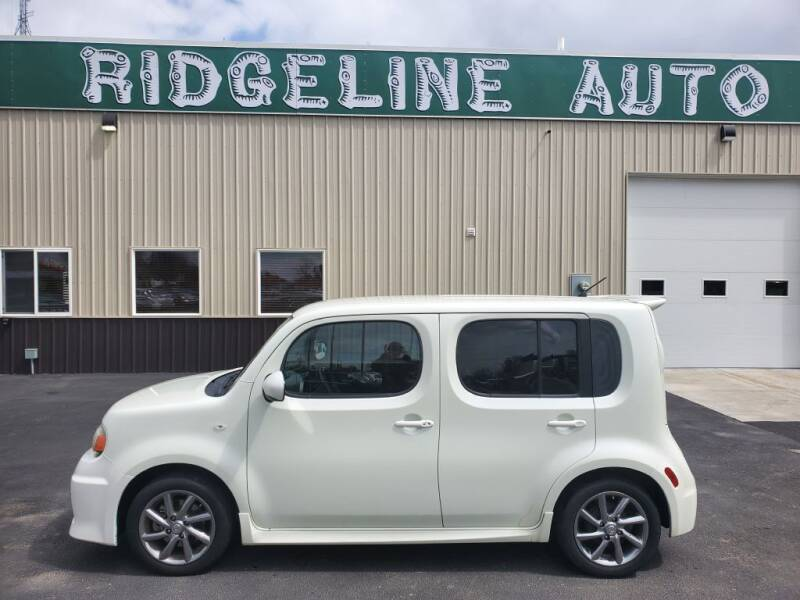 2010 Nissan cube for sale at RIDGELINE AUTO in Chubbuck ID