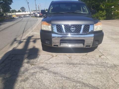2008 Nissan Titan for sale at Star Car in Woodstock GA