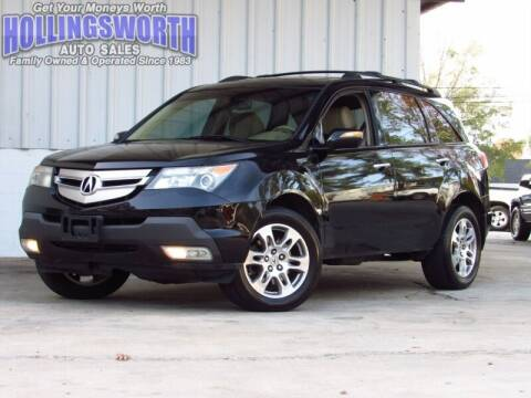 2009 Acura MDX for sale at Hollingsworth Auto Sales in Raleigh NC