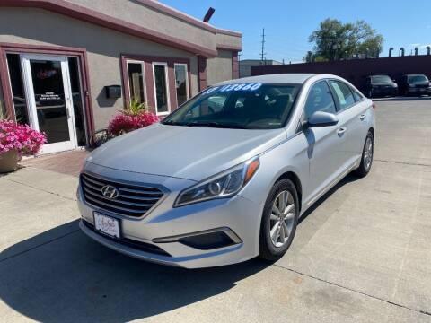 2017 Hyundai Sonata for sale at Sexton's Car Collection Inc in Idaho Falls ID