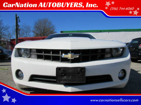 2013 Chevrolet Camaro for sale at CarNation AUTOBUYERS, Inc. in Rockville Centre NY