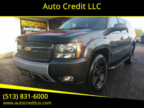 2010 Chevrolet Suburban for sale at Auto Credit LLC in Milford OH