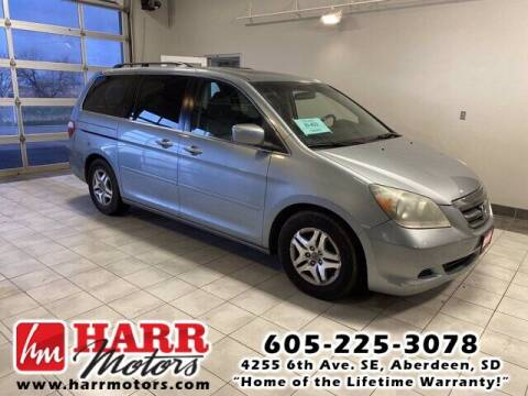 2007 Honda Odyssey for sale at Harr's Redfield Ford in Redfield SD