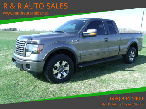 2011 Ford F-150 for sale at R & R AUTO SALES in Juda WI
