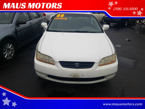 2000 Honda Accord for sale at MAUS MOTORS in Hazel Crest IL