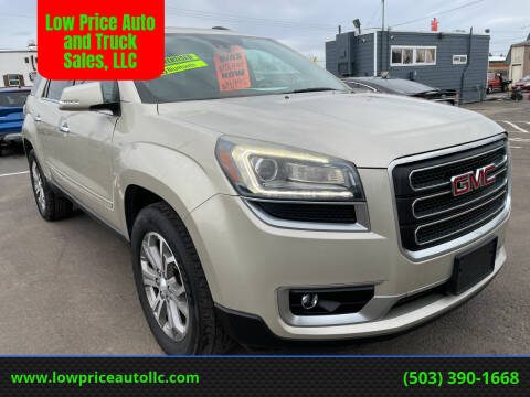 2015 GMC Acadia for sale at Low Price Auto and Truck Sales, LLC in Brooks OR