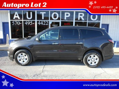 2015 Chevrolet Traverse for sale at Autopro Lot 2 in Sunbury PA