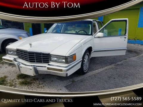 1993 Cadillac DeVille for sale at Autos by Tom in Largo FL