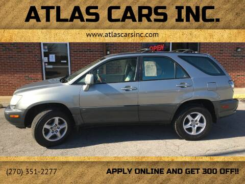 2001 Lexus RX 300 for sale at Atlas Cars Inc. - Radcliff Lot in Radcliff KY