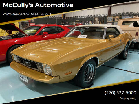 1973 Ford Mustang for sale at McCully's Automotive in Benton KY