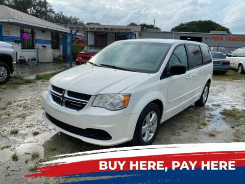 2013 Dodge Grand Caravan for sale at SKYLINE AUTO SALES LLC in Winter Haven FL