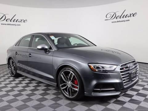 2018 Audi S3 for sale at DeluxeNJ.com in Linden NJ