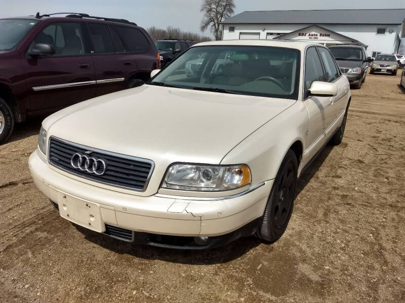 2003 Audi A8 L for sale at RDJ Auto Sales in Kerkhoven MN