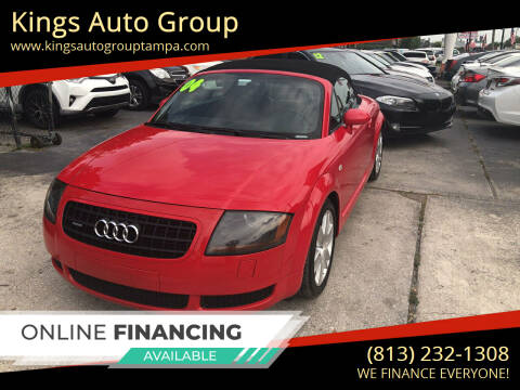 2004 Audi TT for sale at Kings Auto Group in Tampa FL
