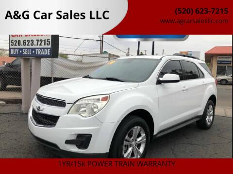2014 Chevrolet Equinox for sale at A&G Car Sales  LLC in Tucson AZ