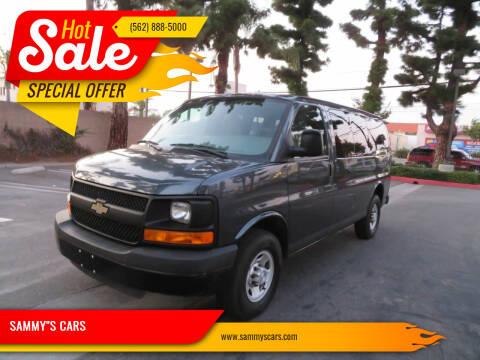 """2015 Chevrolet Express Passenger for sale at SAMMY""""S CARS in Bellflower CA"""