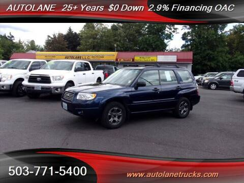 2006 Subaru Forester for sale at Auto Lane in Portland OR