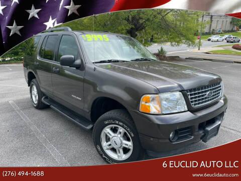 2005 Ford Explorer for sale at 6 Euclid Auto LLC in Bristol VA