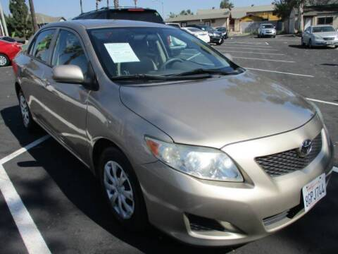 2010 Toyota Corolla for sale at F & A Car Sales Inc in Ontario CA