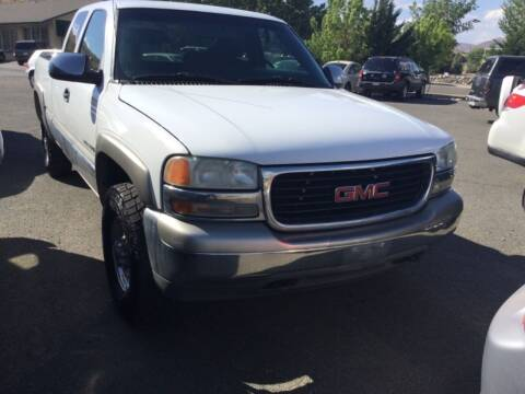 2000 GMC Sierra 2500 for sale at Small Car Motors in Carson City NV