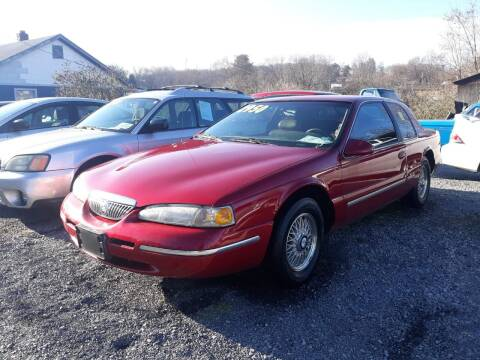 1996 Mercury Cougar for sale at Rocket Center Auto Sales in Mount Carmel TN